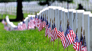 affordable funeral home rochester United States flags