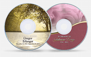 funeral planning checklist memorial DVDs