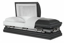 how to plan a funeral casket